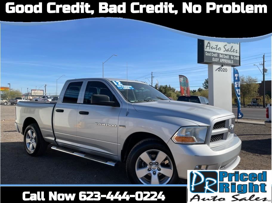 2012 Ram 1500 Quad Cab from Priced Right Auto Sales