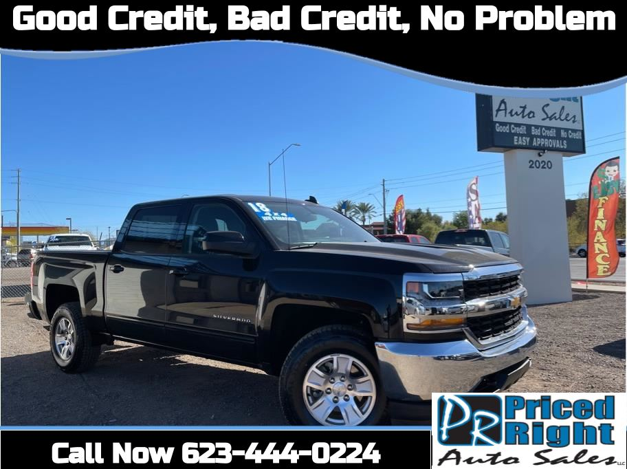 2018 Chevrolet Silverado 1500 Crew Cab from Priced Right Auto Sales