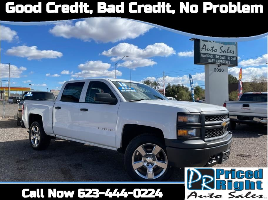 2015 Chevrolet Silverado 1500 Crew Cab from Priced Right Auto Sales