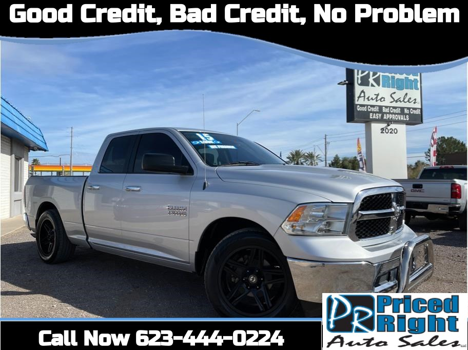 2015 Ram 1500 Quad Cab from Priced Right Auto Sales
