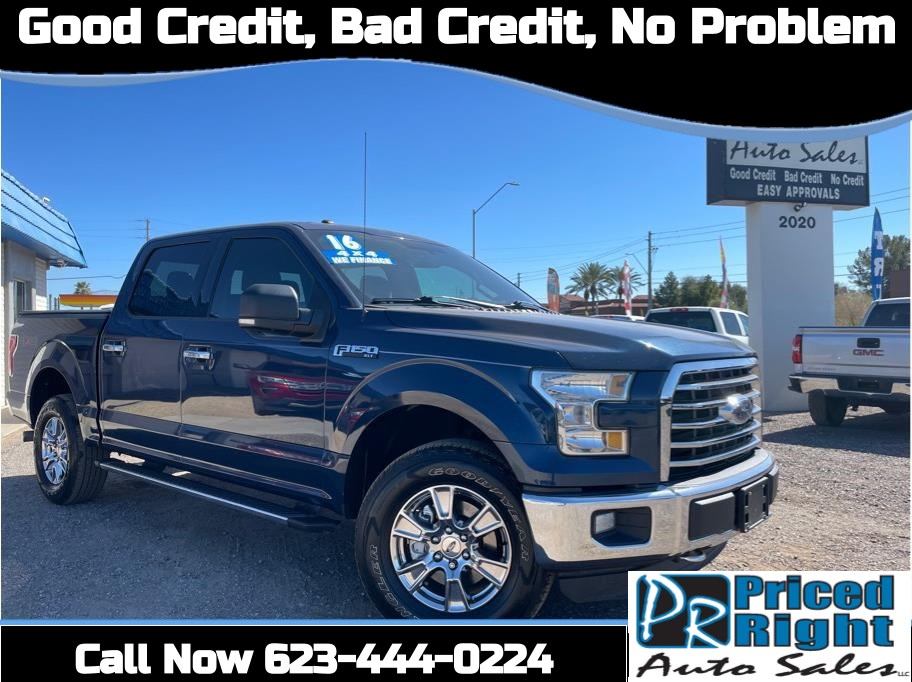 2016 Ford F150 SuperCrew Cab from Priced Right Auto Sales
