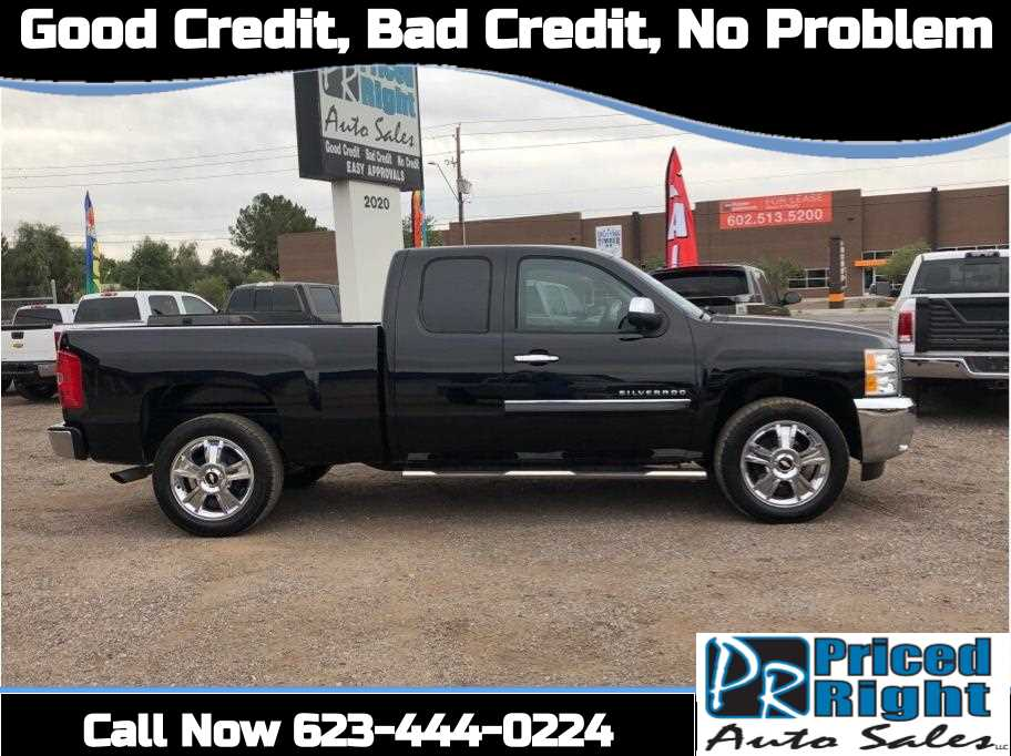 2013 Chevrolet Silverado 1500 Extended Cab from Priced Right Auto Sales