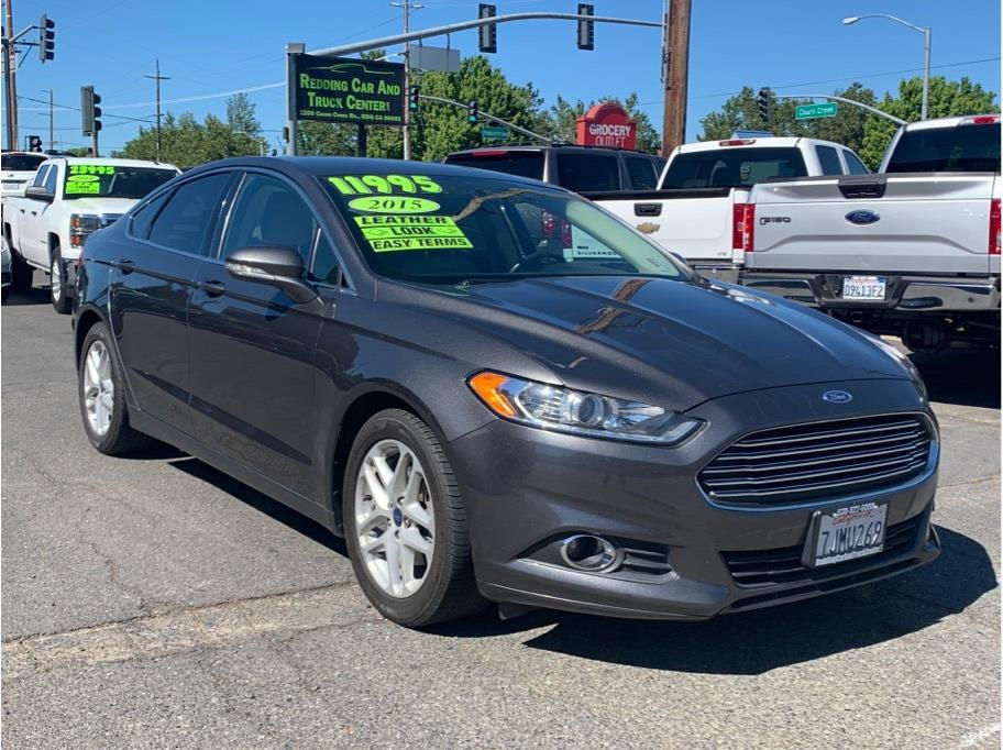 2015 Ford Fusion from Redding Car and Truck Center