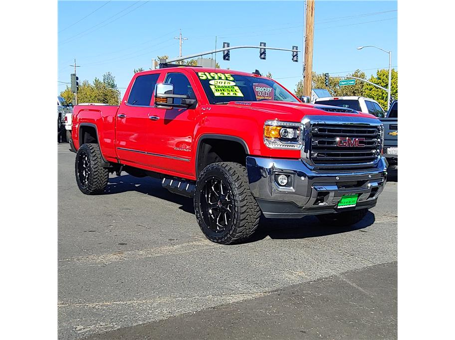 2018 GMC Sierra 2500 HD Crew Cab from Redding Car and Truck Center