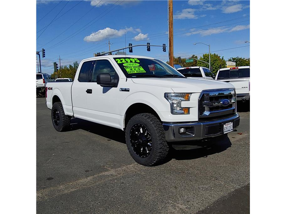 2015 Ford F150 Super Cab from Redding Car and Truck Center