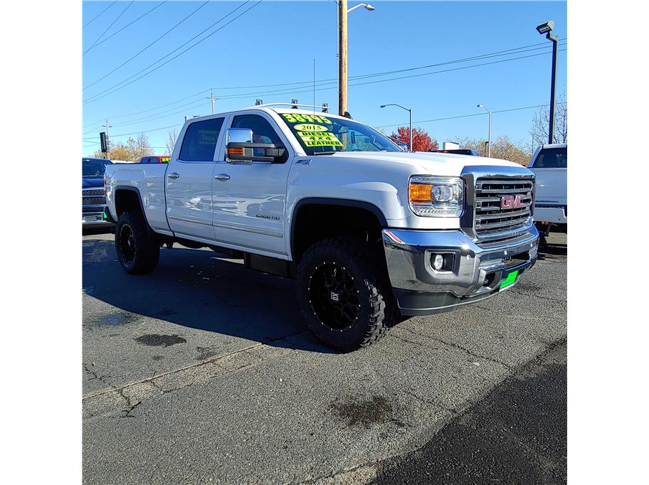 2015 GMC Sierra 2500 HD Crew Cab from Redding Car and Truck Center