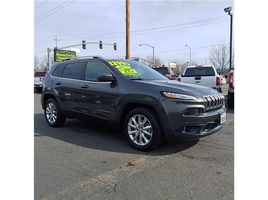 2015 Jeep Cherokee from Redding Car and Truck Center