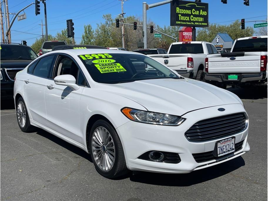2016 Ford Fusion from Redding Car and Truck Center