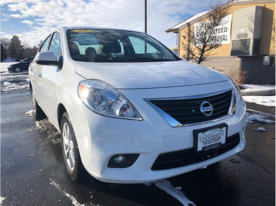 2012 Nissan Versa from University Auto Sales of Moscow