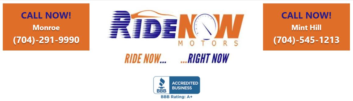 Ride Now Motors >> Ride Now Motors Monroe Nc New Used Cars Trucks Sales